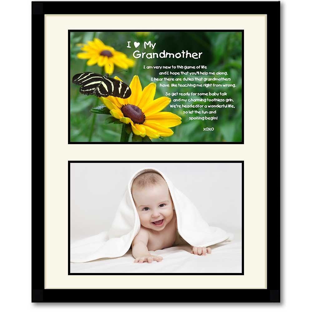 Amazon Grandmother Gift Grandma Poem Birthday Mothers Day Grandchild Birth Add Photo Home Kitchen