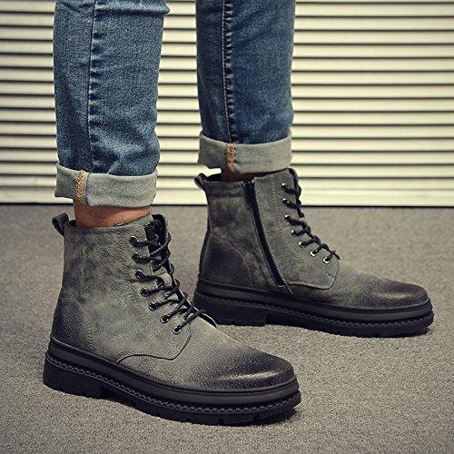 alte Match 43 Martin scarpe uomo stivali grigio Scarpe Matte All HL PYL qB8YT