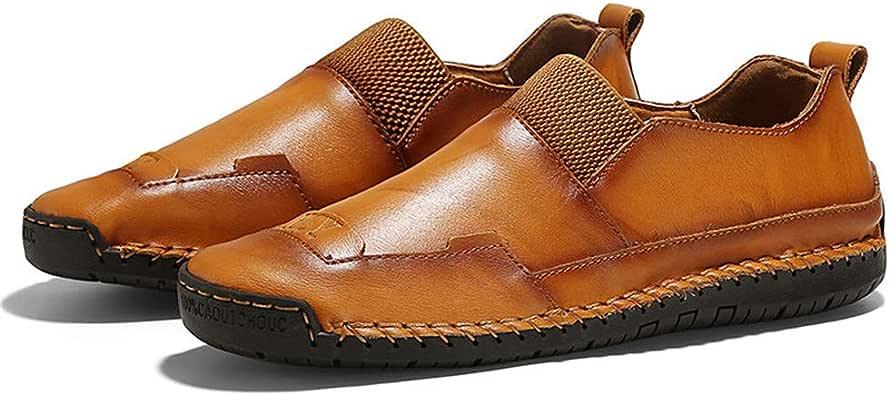 Mocasines Casuales para Hombres Zapatos de conducción Oxfords Zapatillas cómodas con Costuras Penny Mocasines clásicos Cuero Formal para Caminar: Amazon.es: Zapatos y complementos