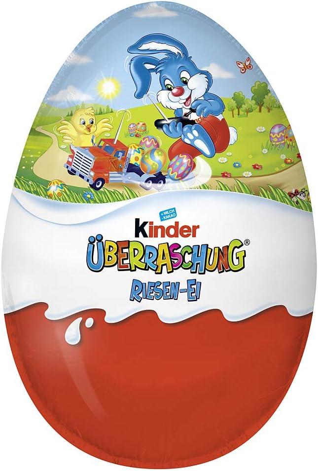 Kinder Surprise MEGA Oeuf de Pâques pour les garçons 220g
