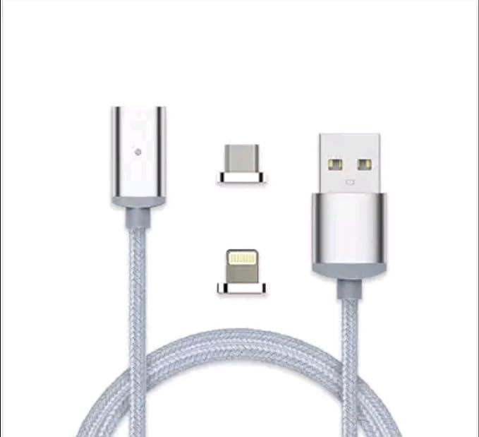 2 en 1 Lighning Cargador rápido USB/cable de datos para ...
