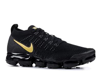 outlet store 44056 6a215 Nike Women's Air Max Vapormax Flyknit 2 Black/Metallic Gold-Metallic  Platinum 942843-012
