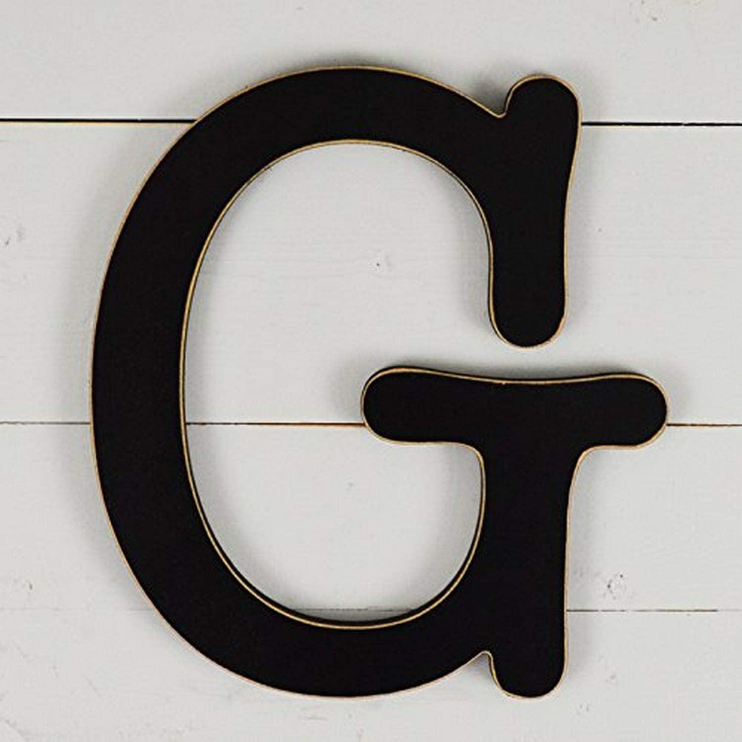 "UNFINISHEDWOODCO 300566 11.5"" Typewriter Wall Decor Letter G-Black"