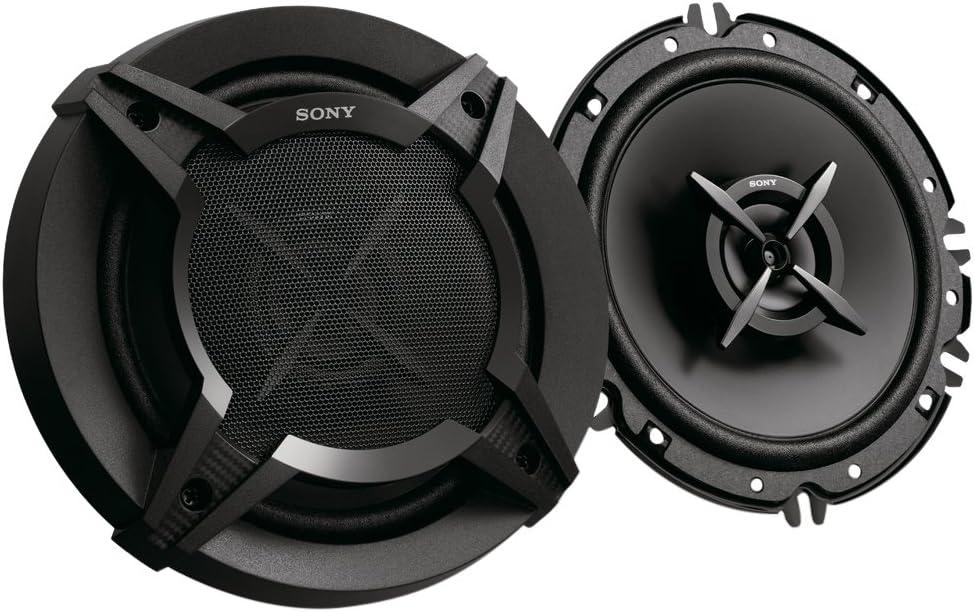 Sony XSFB1620E.EUR - Altavoces coaxiales (2 vías de 16 cm, Potencia máxima 260 W, Potencia Nominal 45 W), Negro