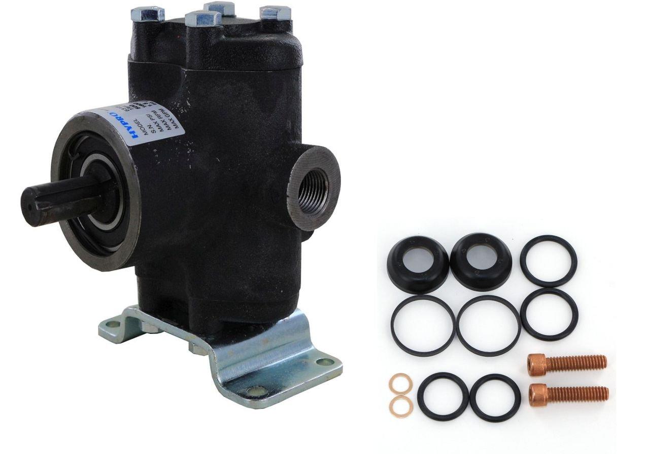 Hypro 5330C-CX Piston Pump with 3430-0009 Repair Kit (Bundle, 2 Items)