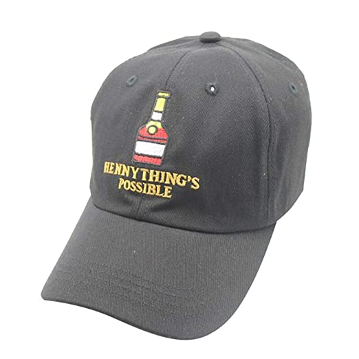 2ec9094b iCJJL Hennything is Possible Embroidered Dad Hat Low Profile Unconstructed  Trucker Adjustable Strap Back Baseball Caps
