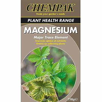 Feeds Chempak magnesio alimentación alimentos fertilizante 750 G: Amazon.es: Jardín