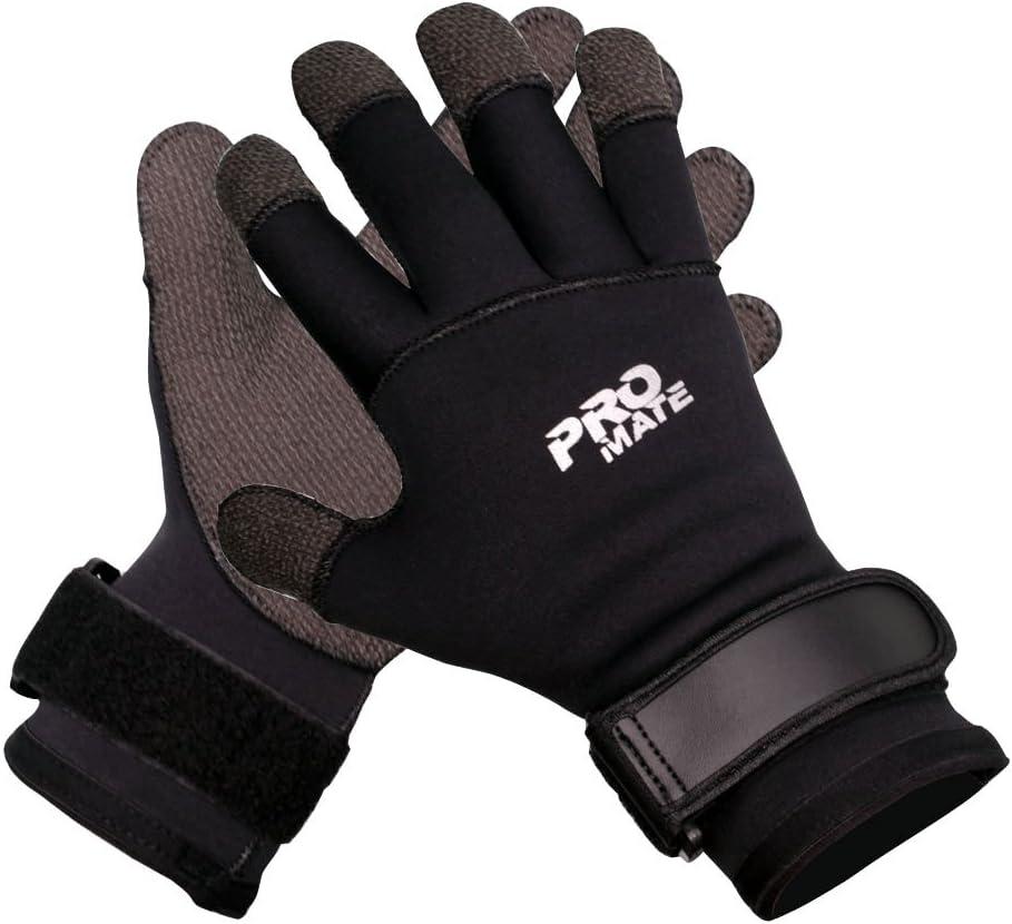 Promate 5mm Neoprene Kevlar Dive Glove : Sports & Outdoors