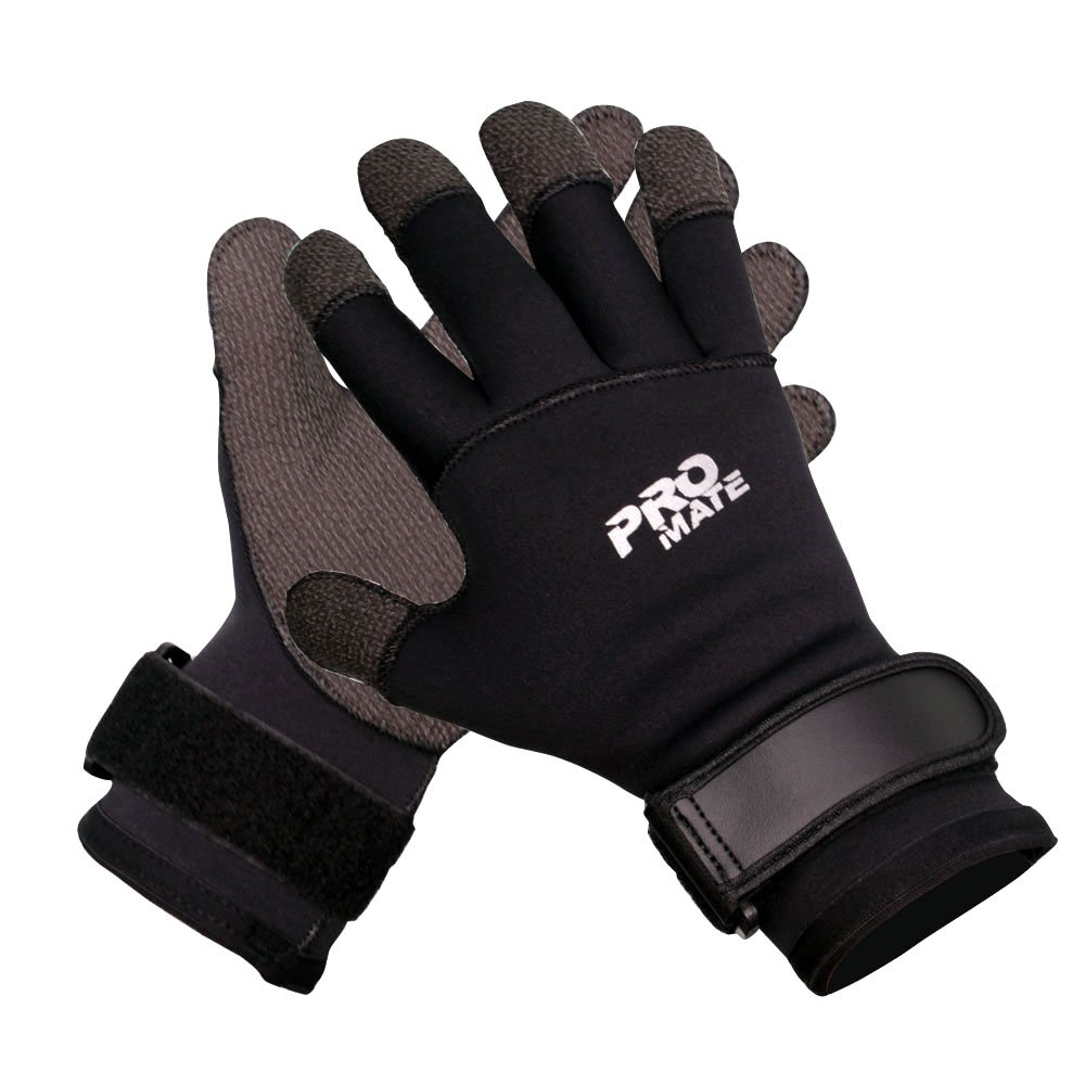 Promate Scuba Dive 5mm Neoprene Kevlar Gloves, Medium by Promate