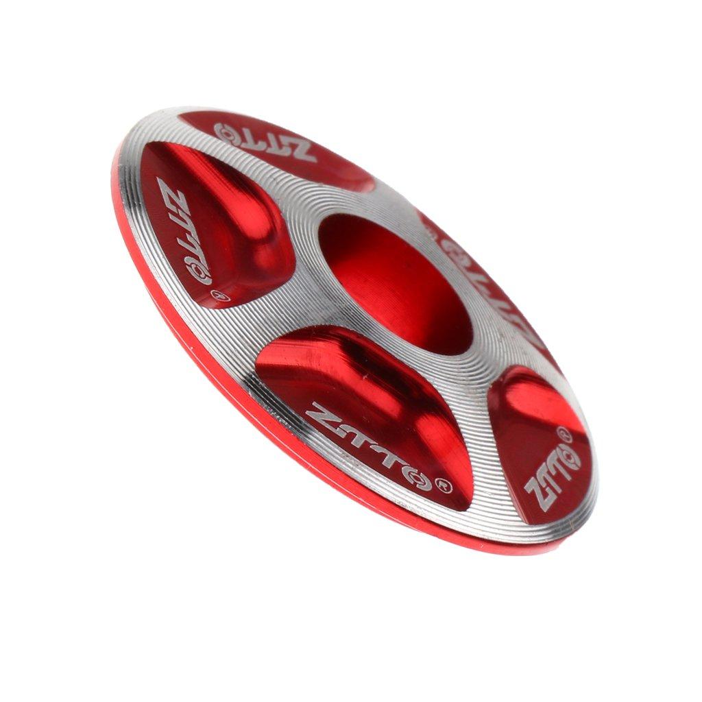 Sharplace 2X Tapa de Juego de Direcci/ón Tallo Ligero Durable Bicicleta Bici de Camino MTB Ciclismo Accesorio