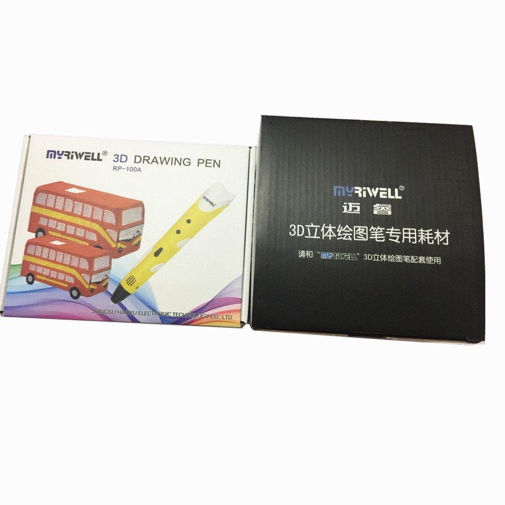 Original myriwell 3d RP100 A Lápiz de dibujo con 20 color ABS para ...