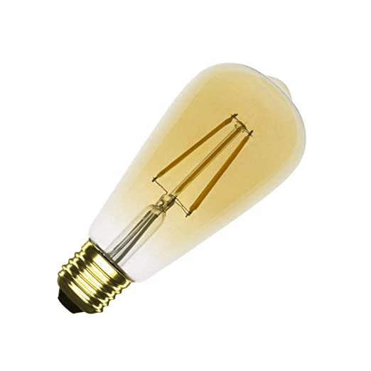 Bombilla LED E27 Regulable Filamento Gold Big Lemon ST64 5.5W Blanco Neutro 4000K-4500K