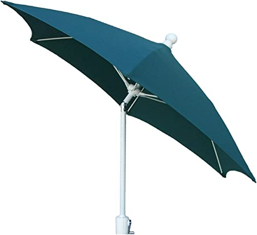 FiberBuilt 9 Ft. Aluminum Market Patio Umbrella W/Crank Lift Tilt