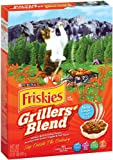 Purina Pet Care Friskies Dry Cat Grillers Blend, 16.2-Ounce (Pack of 12), My Pet Supplies