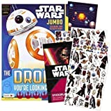 Star Wars Coloring Book with Stickers ~ Includes Bonus Solar System Sticker!