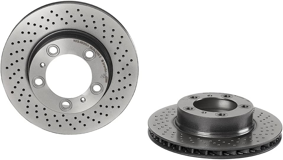 Brembo 09.A386.11 UV Coated Front Disc Brake Rotor