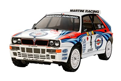 3.Tamiya 1/10 RC Car Series No.570 Lancia Delta Integrale (TT-02 chassis) 58570