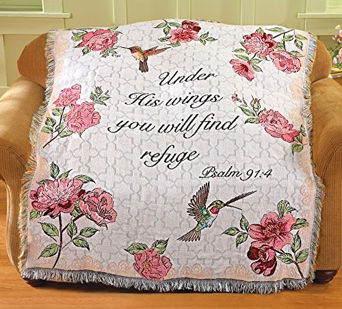 Floral Tapestry Under Wings Throw
