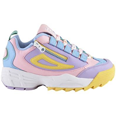 Fila Disruptor 3 Zip Womens Platform Trainers
