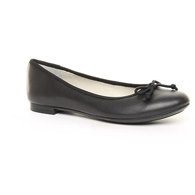 dde2691c14a Ladies Clarks Wide Fit Carousel Ride Black Ballerina Shoes Size 9 ...