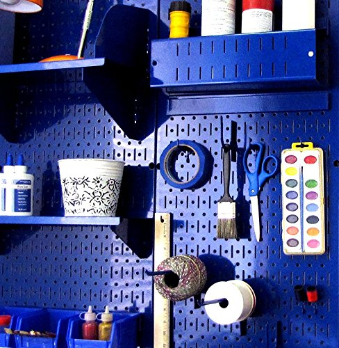 Wall Control 30-P-3232BU Blue Metal Pegboard Pack by Wall Control (Image #10)