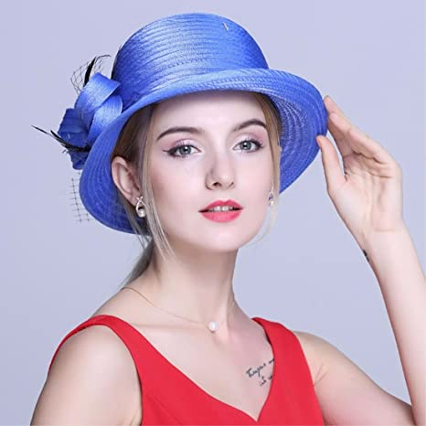 YISANLING mujer sombrero de moda de verano nombre Yuan tapón tapa del domo  sombrero 039c89a17870