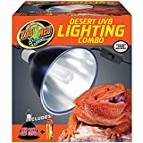 Zoo Med Combo Pack Desert UVB Lighting