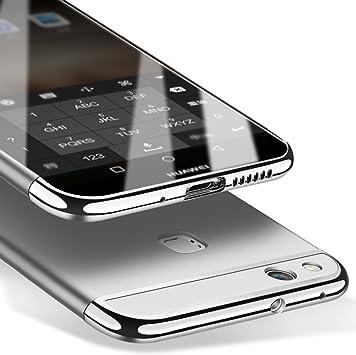 msvii Funda Huawei P10 Lite 5.2 Pulgadas, 3-in-1 Design PC Funda Case Cover + Protector de Pantalla para Huawei P10 Lite 5.2 Pulgadas (no es Compatible con Huawei P10): Amazon.es: Electrónica