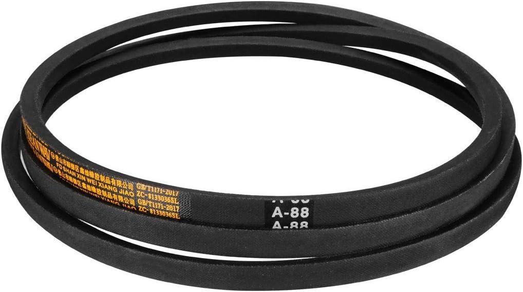 uxcell A-89 Drive V-Belt Girth 89-inch Industrial Power Rubber Transmission Belt