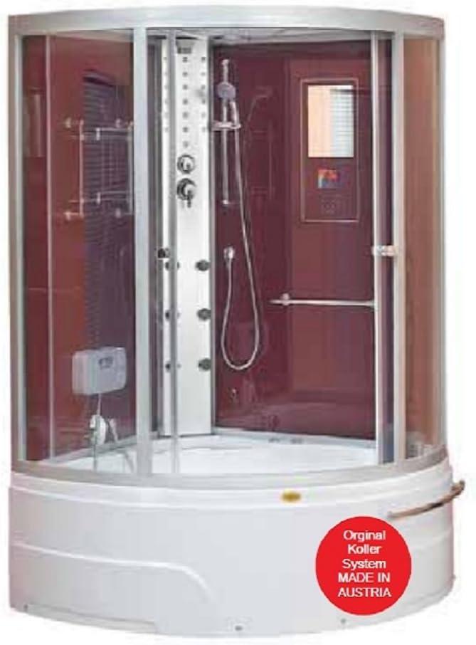 Cabina combinada ducha vapor y de hidromasaje Orlando: Amazon.es ...