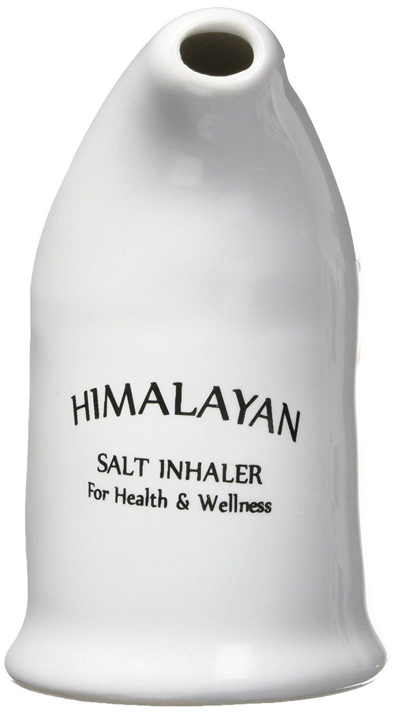 Yogti Himalayan Salt Inhaler with Authentic Himalayan Pink Food Grade Salt, Respiratory Aid for Asthma and Allergies, 100g