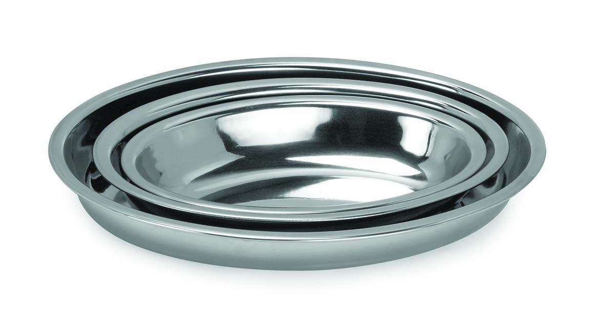 Amazon.com: Chef Direct Stainless Steel Deep Oval Baking Dish Italian Style 35 Cm // Chef Direct // Bandeja Oval Honda En Acero Inoxidable: Kitchen & Dining
