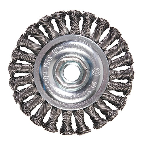 6511B Premium Knot Wire Wheel, 4