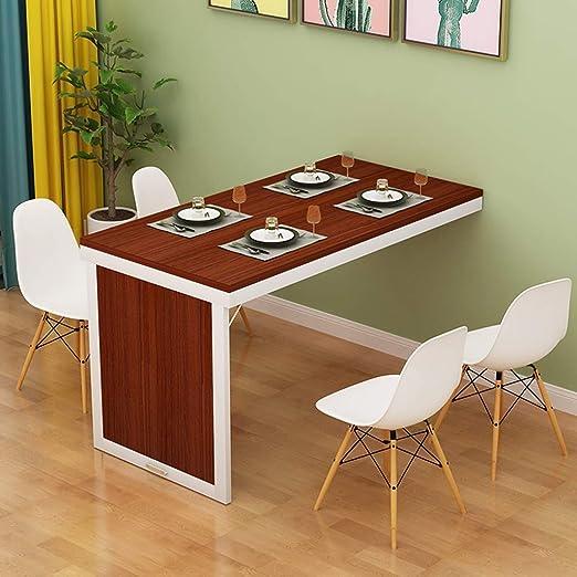 XU FENG Mesa de Comedor Plegable de Pared Despliegue la Mesa ...