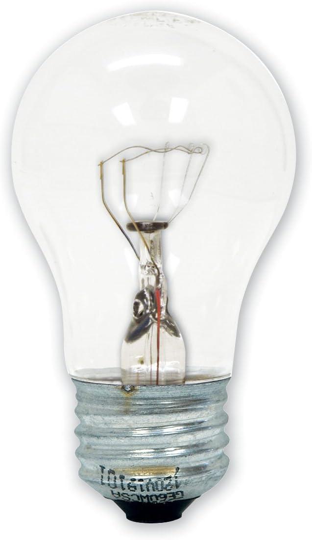 GE Lighting 15206 40-Watt Appliance Light A15 1CD Light Bulb