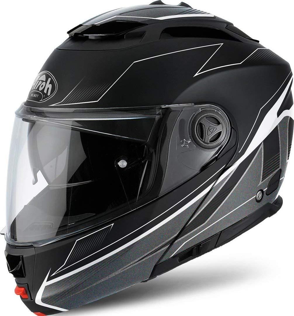 /Spirit / /Black//White XXL Black Matt Airoh Modulare Helm Phantom /