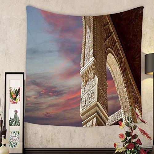 Evelyn C. Connor Custom?tapestry arches in islamic moorish style in alhambra granada - Beach Granada Long Beach