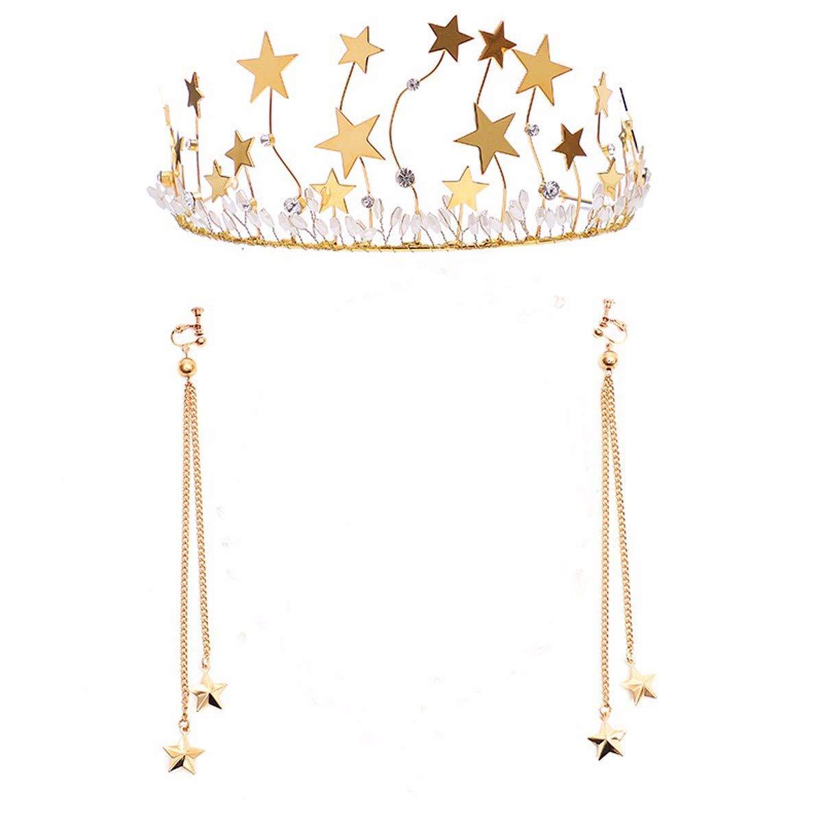 Crystal Crown, Beautiful headdress/Bridal Ornaments Wedding Accessories Wedding And Dressing Headwear Hairpin Hair Hairline.