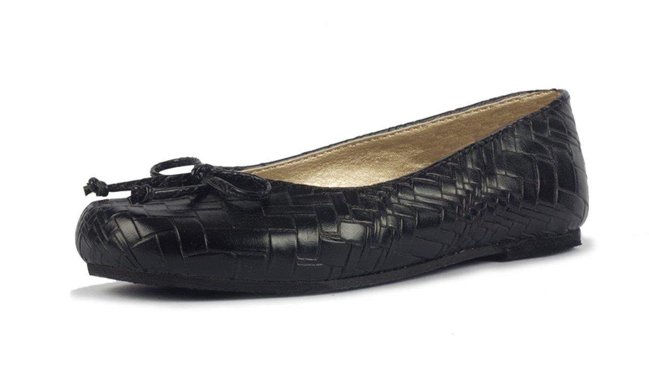 Subibaja Mia - Mommy & Me Shoes, Classic Ballet Flats for Women B0772SJYVJ 9 M|Black