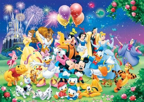 Jigsaw Puzzl (Nathan Disney Classic 87616 Jigsaw Puzzle-1000Pieces-The Family)
