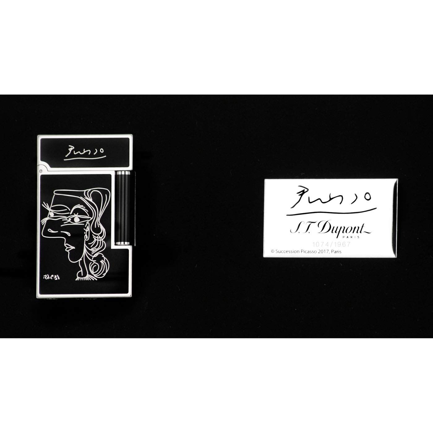 S.T. Dupont Ligne 2 Limited Edition Picasso 2018 Lighter 16105 by S.T. Dupont (Image #7)