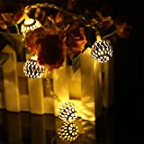 Golden Ambiance Lighting - Metal Balls - Festival / Wedding / Gifting / Xmax / New Year - The perfect Gifting in 'Gift' Box!