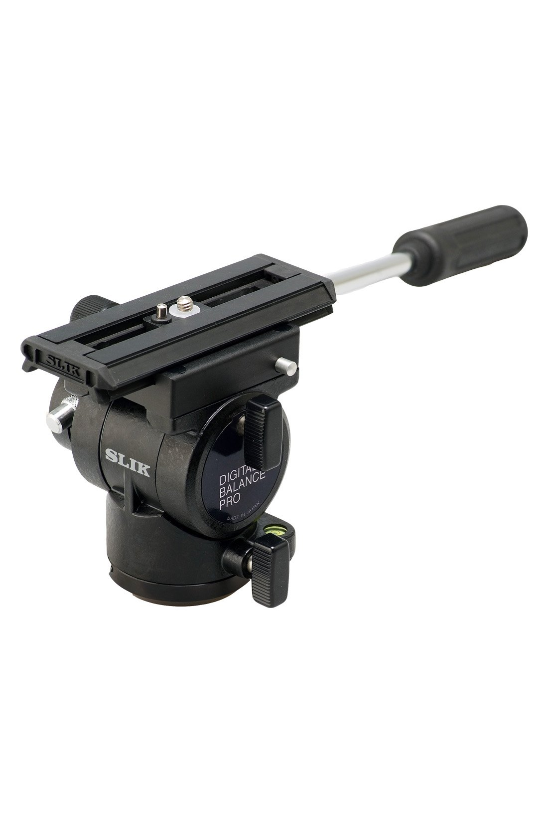 Daiwa / SLIK Digital Balance Pro Fluid Pan Head with Quick Release, Black (618-665)