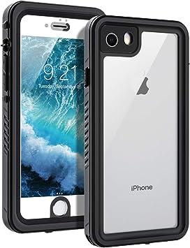 BengUp Coque étanche pour iPhone 8, iPhone SE 2020/7, protection d'écran intégrée, résistante aux chocs, à l'eau, à la neige, à la poussière, ...