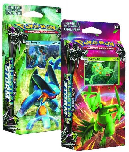 Pokemon Sun & Moon Celestial Storm: Both 60-Card Theme Decks pok-smcs2decks