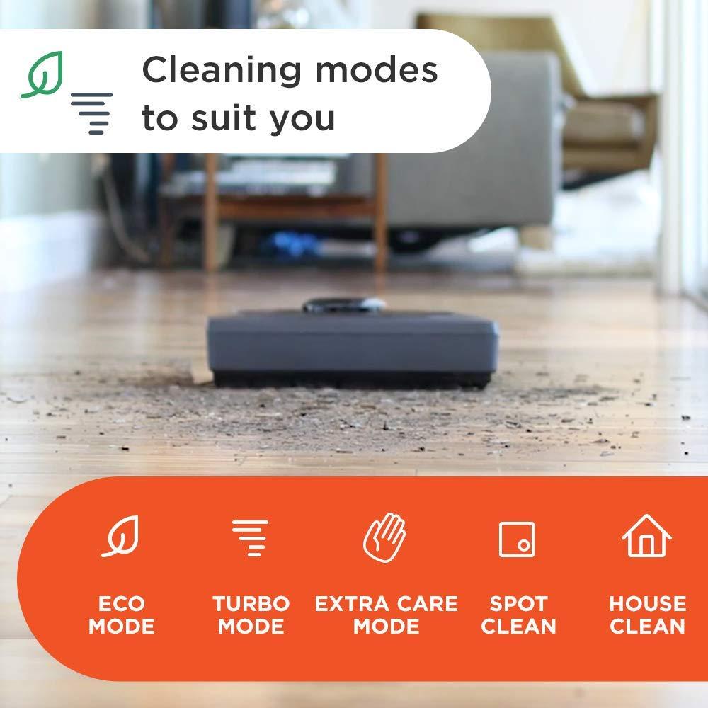 Robot aspirapolvere con stazione di ricarica Neato Robotics D402 Connected Compatibile con Alexa Wi-Fi /& App