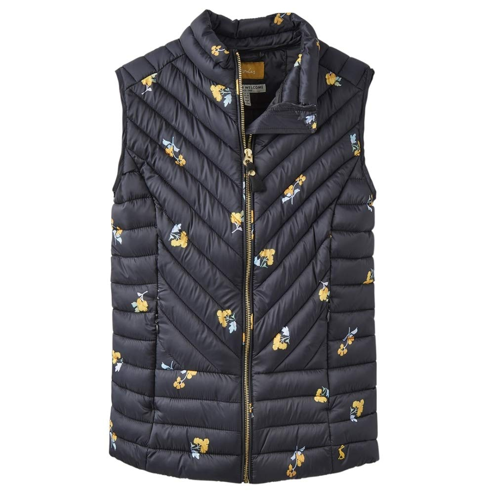 Joules Womens Brindley Warm Padded Quilted Body Warmer Gilet