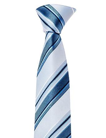 corbata de Mayo Lando, con rayas, muy elegante, Negro, Oro, Azul ...