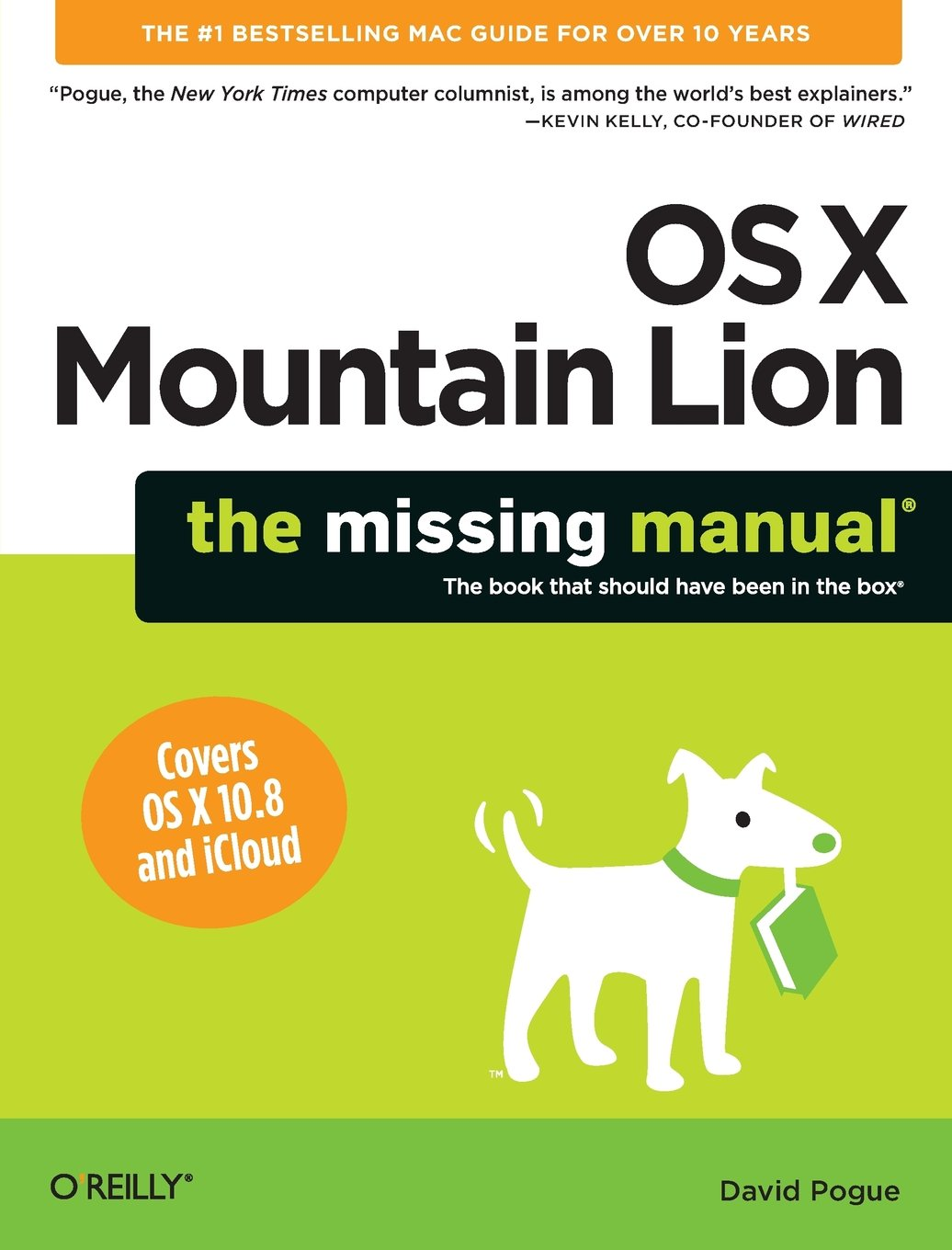 OS X Mountain Lion  The Missing Manual