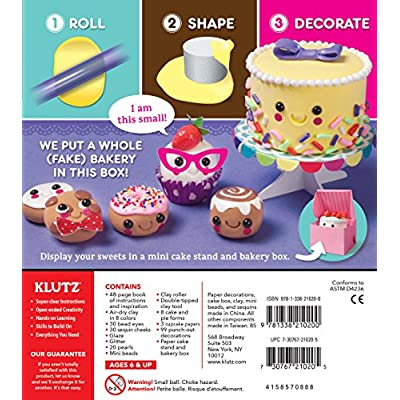 Klutz Mini Bake Shop: Klutz, Inc.: Toys & Games
